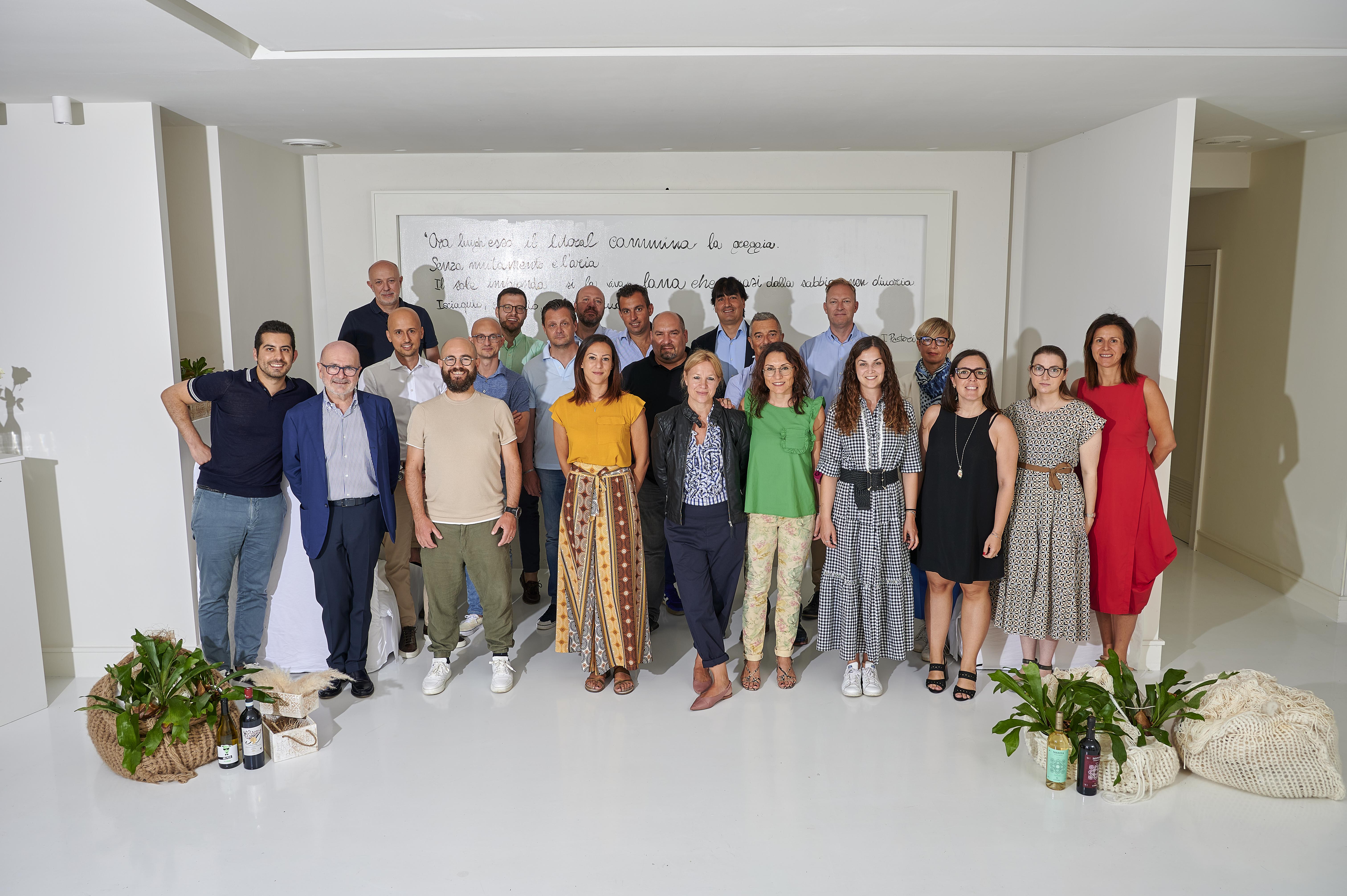 L'incontro tra il team commerciale Citra e il Gruppo E. Freddi